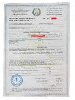 Сертификат на продукты